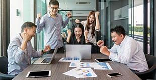 企業の再生、成長に向けたコンサルティング業務